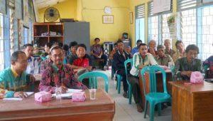 Peserta Sosialiasi Tembakau Kabupaten Mesuji