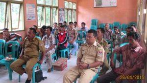 Peserta Sosialiasi Kedelai di BP3K Panca Jaya