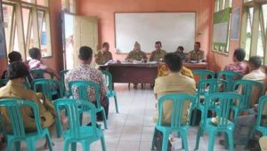 Peserta Kegiatan Temu Teknis Tingkat Kecamatan BP3K Panca Jaya