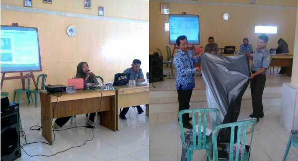Pelatihan Cabai Oleh BPTP Lampung