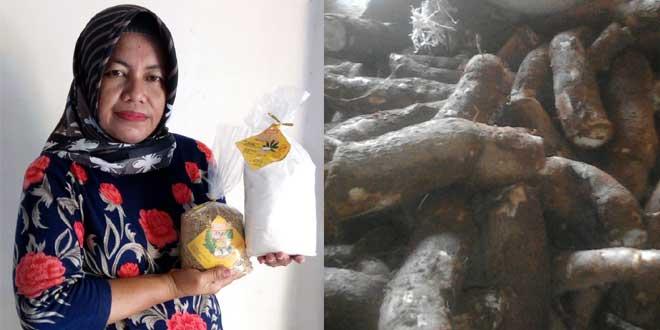 KWT Sekar Makmur Olah Ubi Kayu Menjadi Tepung Mocaf