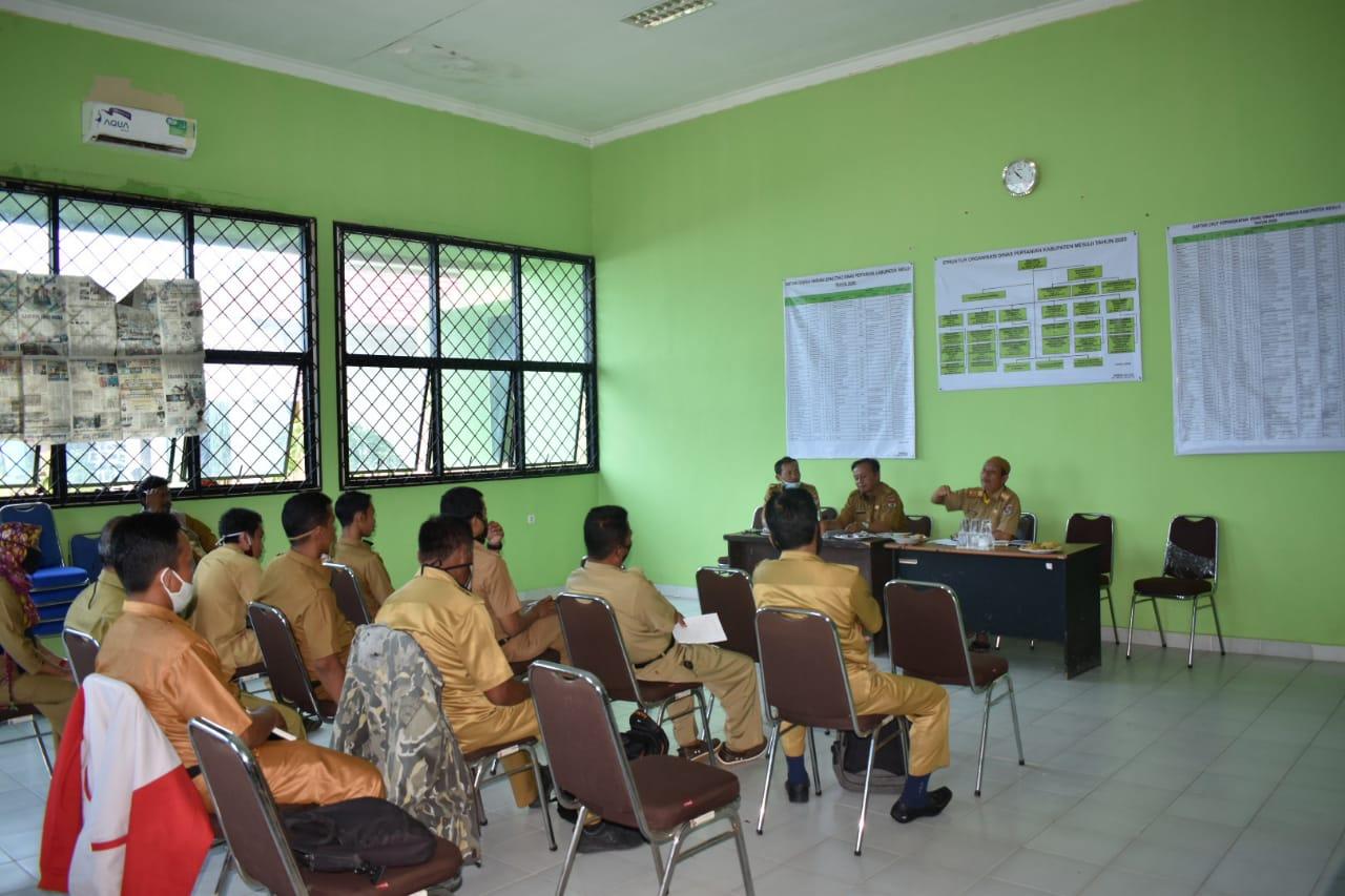 Sosialisasi evaluasi kinerja THL Dinas Pertanian Kabupaten Mesuji