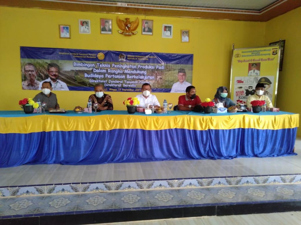 Bersama DPR RI, Kementan dan Dinas Pertanian Bekali Petani Dengan Pelatihan